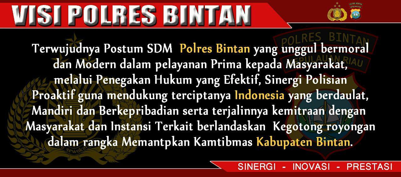 VisiPolres Bintan